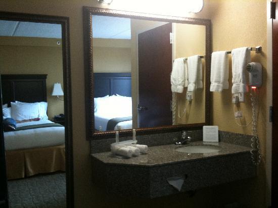Holiday Inn Express & Suites DFW Airport South Hotel : Roomy