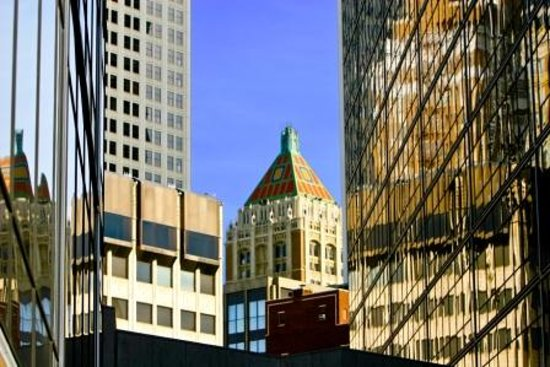 Oklahoma: Downtown Tulsa is filled with gleaming glass juxtaposed against art deco terra cotta treasures.