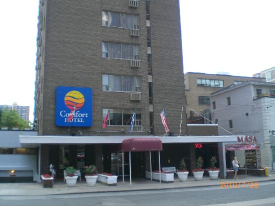 Front Entrance Picture Of Comfort Hotel Downtown