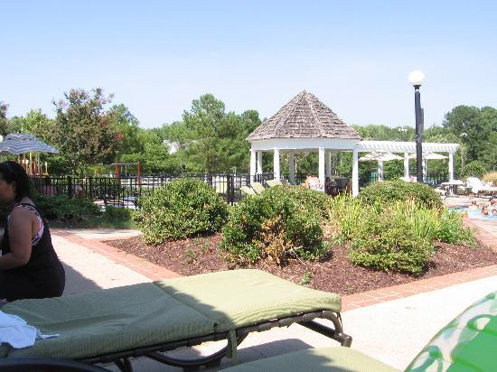 The Historic Powhatan Resort: playground for kids by the pool
