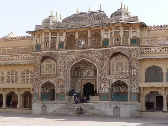 Djapur, Indie: The Palace inside Amer Fort