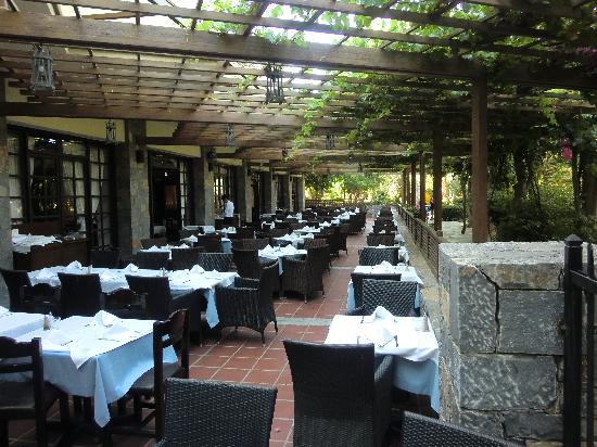 Apollonia Beach Resort &amp; Spa: restaurant principal