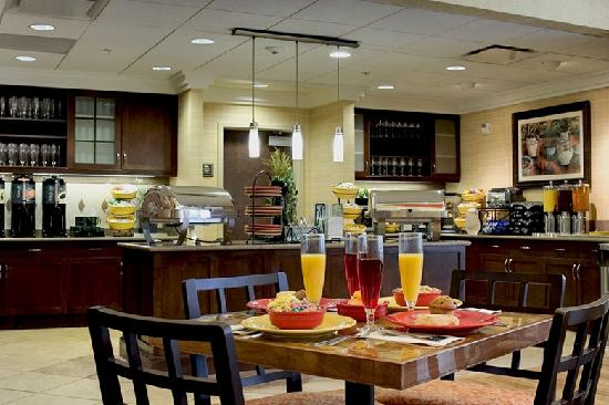 "Homewood Suites by Hilton Columbus: ""Complimentary Buffet"""
