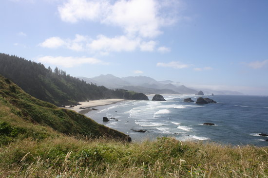 Cannon Beach, Oregon: Ecola State Park View