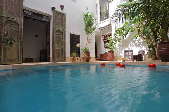 Riad Tawanza: Le patio du riad