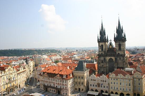 Astoria Hotel: Historical centre of Prague just around the corner of the hotel