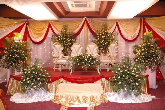 Kunduchi Beach Hotel And Resort our wedding stage at kikwete hall