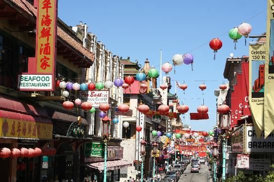 San Francisco, CA: Chinatown lädt zum Shopping ein