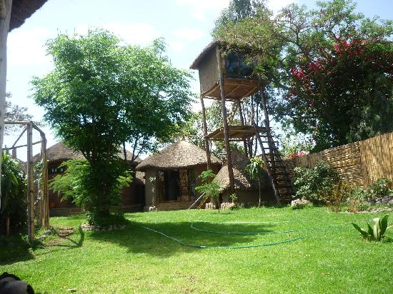 Babogaya Resort: upper part with room 3 and 4