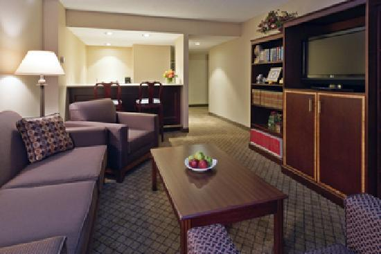 Two Bedroom King Suite Picture Of Holiday Inn Hotel Suites Cincinnati