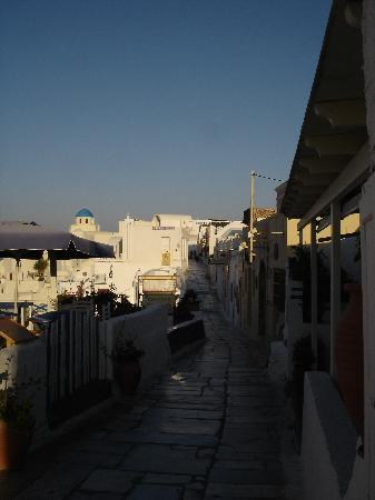 Oia in the morning