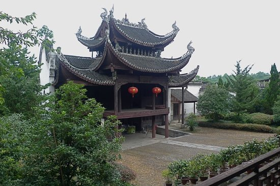 Yongzhou China  city photo : Yongzhou, China: Interior courtyard