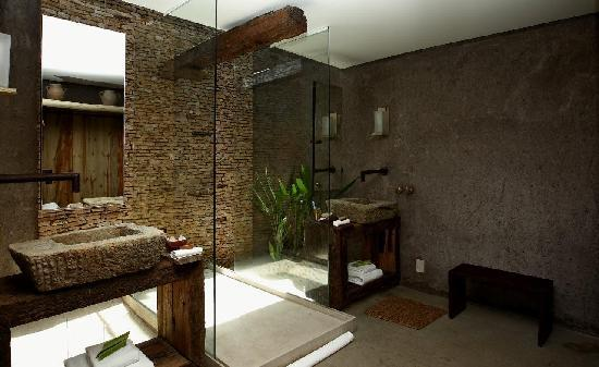 Kenoa - Exclusive Beach Spa &amp; Resort: BathRoom @ kenoa resort