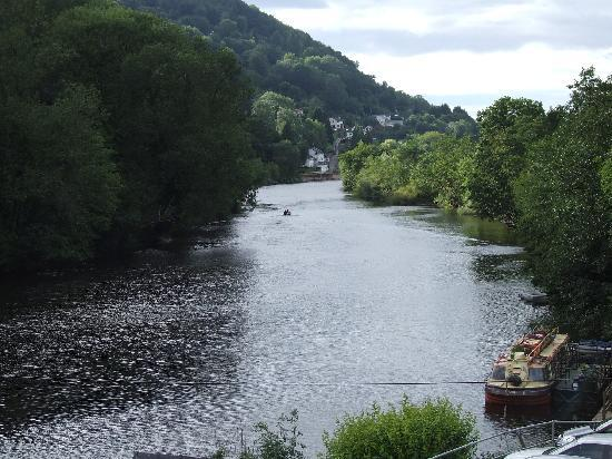 Symonds Yat, UK: The view from our room.