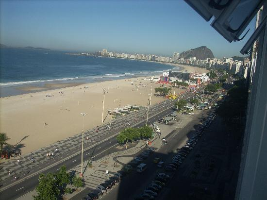 Leme Palace: copacabana beach