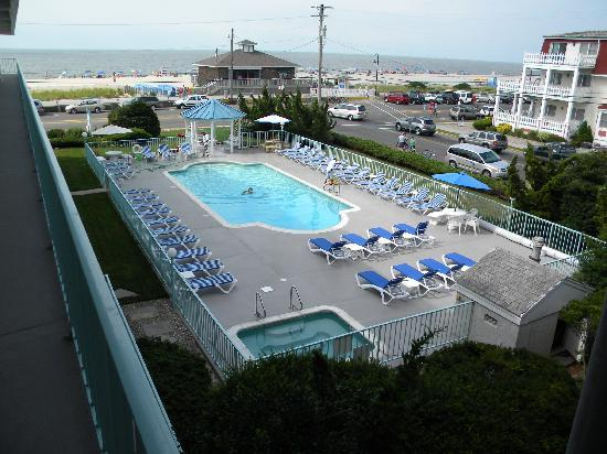 Sea Crest Motor Inn: View from the third floor.