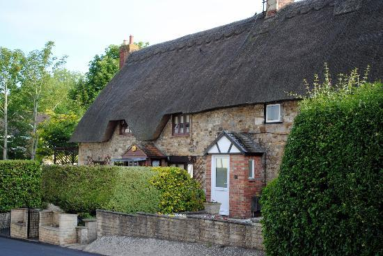 Chiseldon House: Thatch-roofed home galore