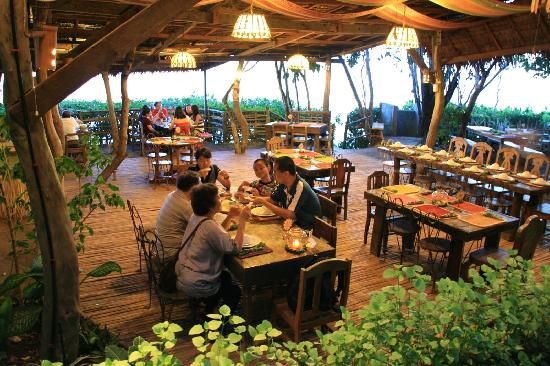 restaurant with sea veiw Picture of Bohol Bee Farm Panglao Island TripAd
