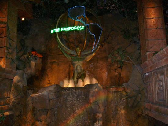 Rainforest Cafe Sacramento California