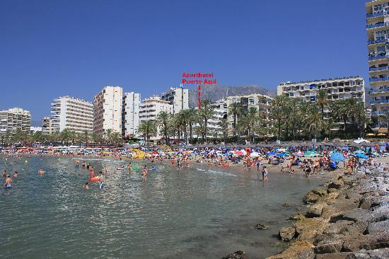On the beach picture of aparthotel puerto azul marbella marbella tripadvisor - Aparthotel puerto azul marbella ...