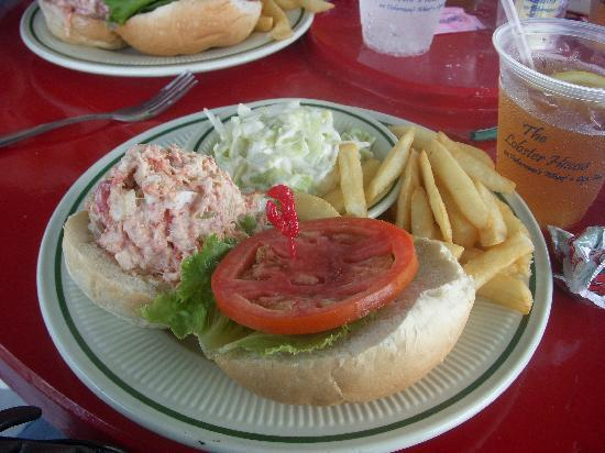 The Lobster Salad Sandwich - Picture of The Lobster House, Cape May ...