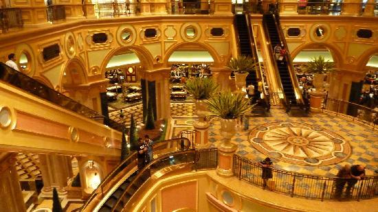 Grand Hall Of The Hotel Picture Of The Venetian Macao