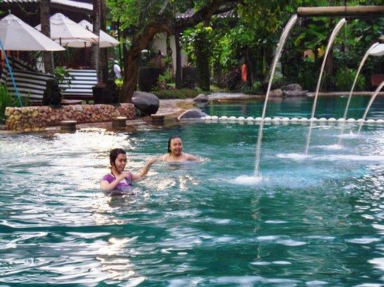 The Aryaduta Hotel & Country Club: the 1st swimming pool(cause they have 2 swimming pool)