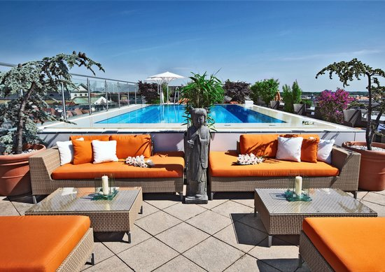 Mandarin Oriental Munich : China Moon Roof Terrace