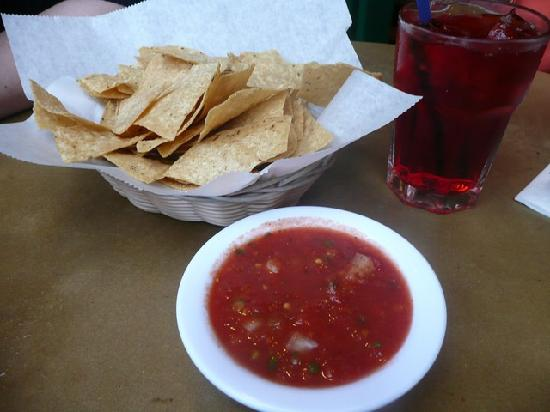 Tortilla Chips und Salsa. Por barnie1266. Munich, Germany