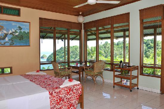 Bitung, Индонезия: Divers Lodge Lembeh - Bungalow