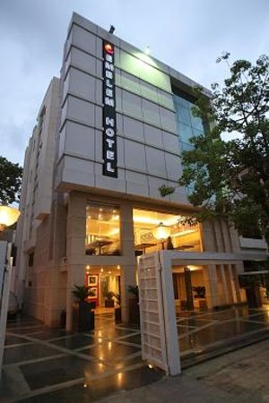 Emblem - A Boutique Hotel: Building Front View