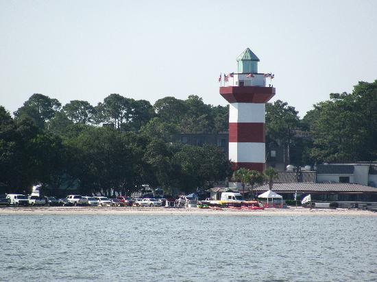 Sights along the way for Hilton head fishing party boat
