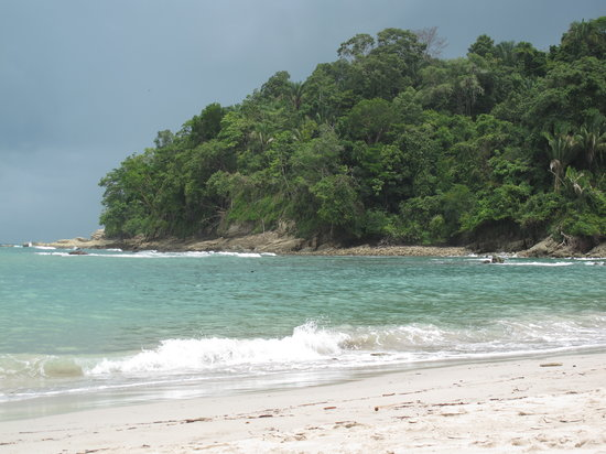 Costa Rica: playa parque Nacional Manuel Antonio