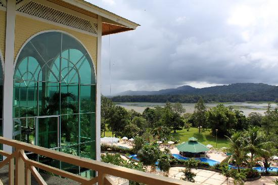 Gamboa Rainforest Resort: terrace view
