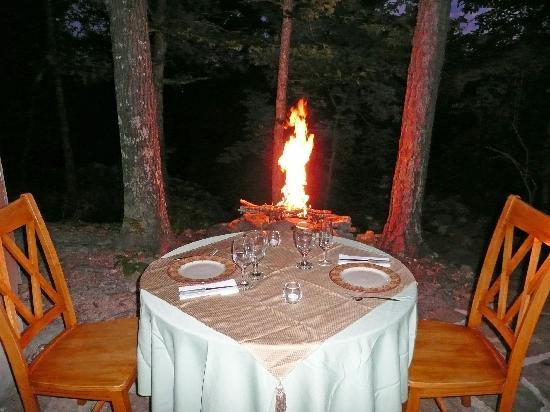 Prim, AR: Romantic dinner