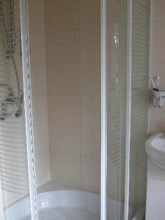 Anvil Lodge: large shower