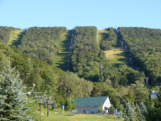 view of wyndham bentley brook from scenic chairlift ride. Cars Review. Best American Auto & Cars Review