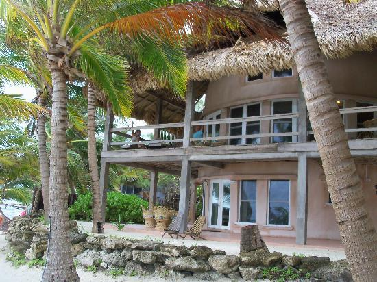 Xanadu Island Resort Belize: sitting on porch