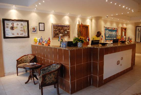 Olwandle Suite Hotel: Olwandle Reception