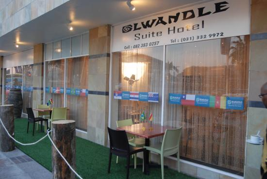 Olwandle Suite Hotel: Olwandle Side View