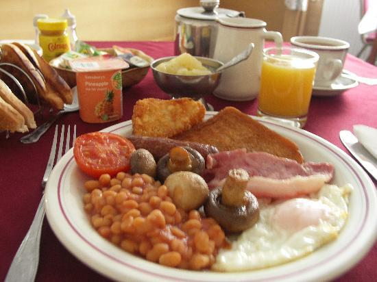 Grosvenor House (Guest House): Hearty Breakfast
