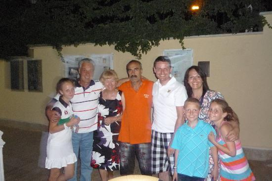 Aegean Park: imam and the family!!!!!!!!!