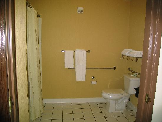 The Inn at St. Ives: handicapped bathroom