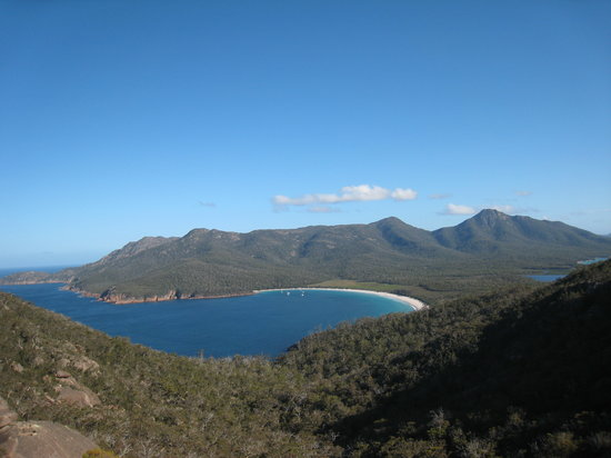 Coles Bay, Avustralya: Wineglass bay