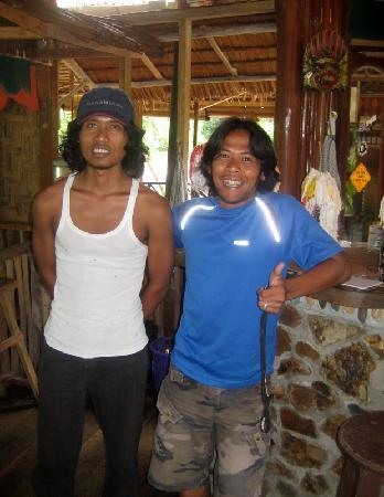 Agun Jungle Tribe owner and Agunto Jungle Tribe staff