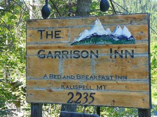 The Garrison Inn: sign