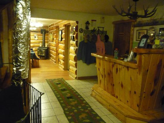 Cooke City, MT: The Check In Area