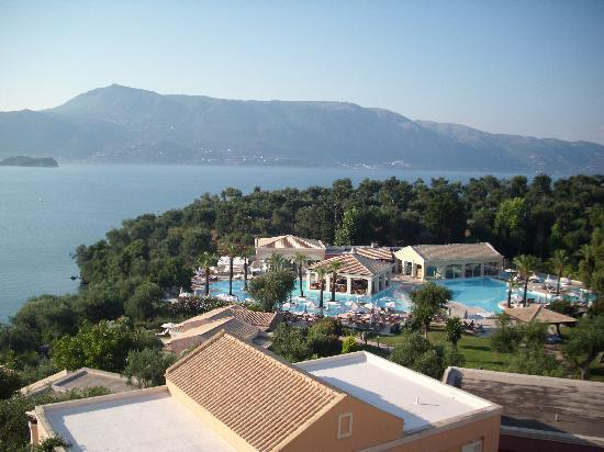 Kommeno Bay, Greece: View from my room