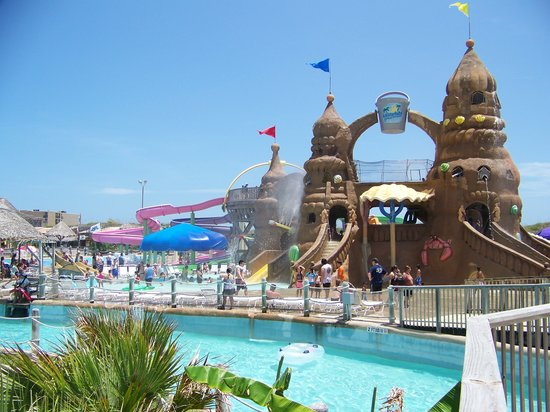 Map Of Schlitterbahn South Padre Island