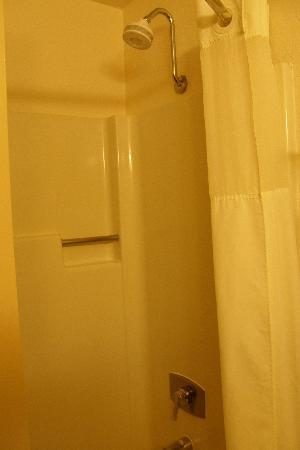 Quality Inn &amp; Suites: shower